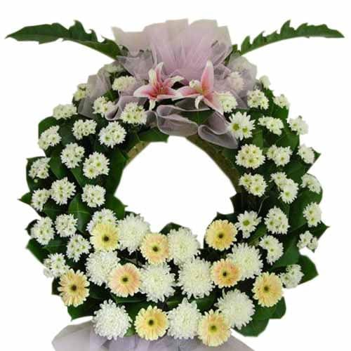 Miss u always Wreath