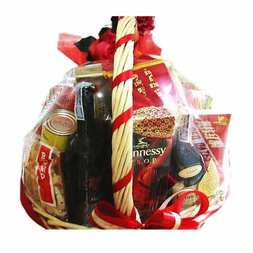 Memorable Gift Basket for New Year