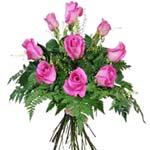 Exotic Bloom in My Heart Pink Roses Bouquet