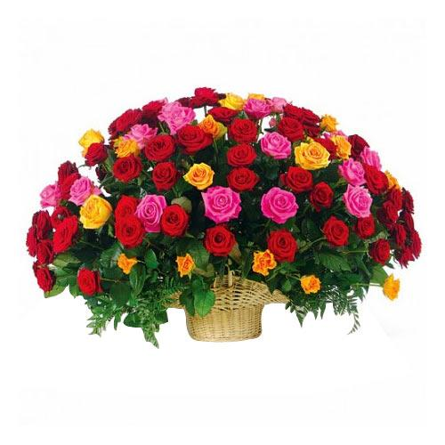 Fragrant Untouched Feelings Mixed Roses Bouquet
