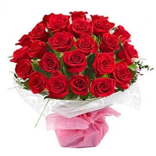 Exquisite Always and Forever Red Roses Bouquet