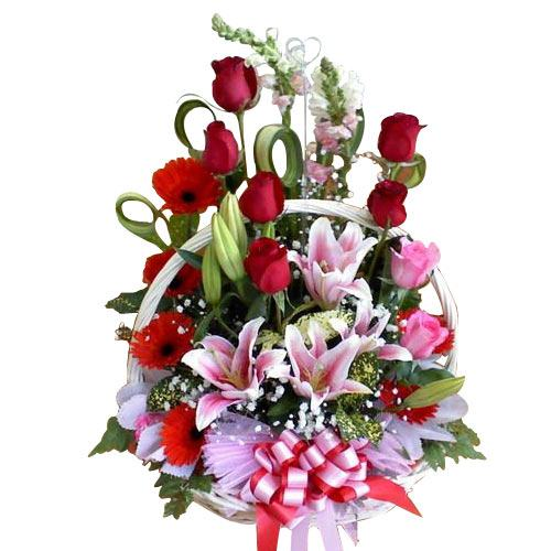 Artful Assortment of Flowers Creation
