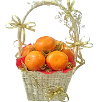 Bountiful Grand Celebration of Fresh Fruits in a Basket