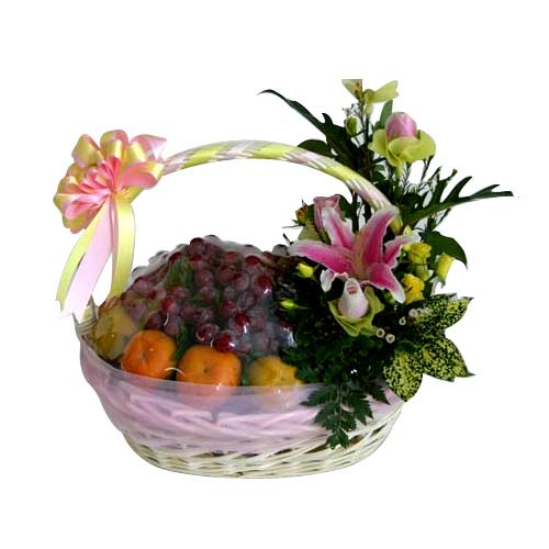 Energetic Retreat Fresh Fruit Gift Basket