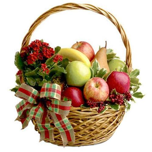 Pulpy Entertainer's Fruit Gift Basket of Assortments