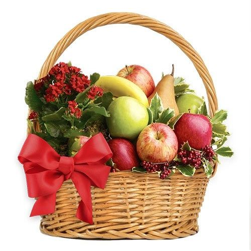 Ripe Taste of Romance Assorted Fruit Basket