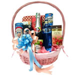 Bright Deluxe Signature Gift Basket