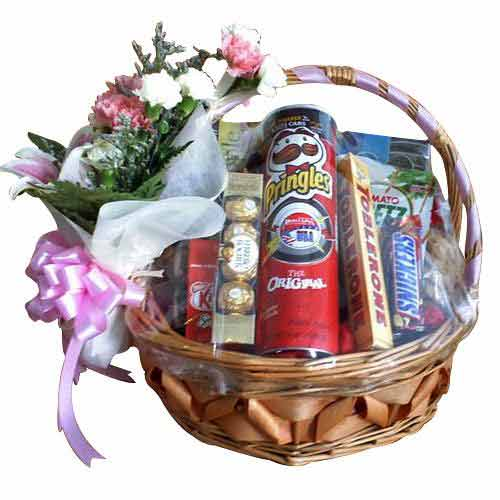 Amazing Energy Blast Assortments Gift Basket