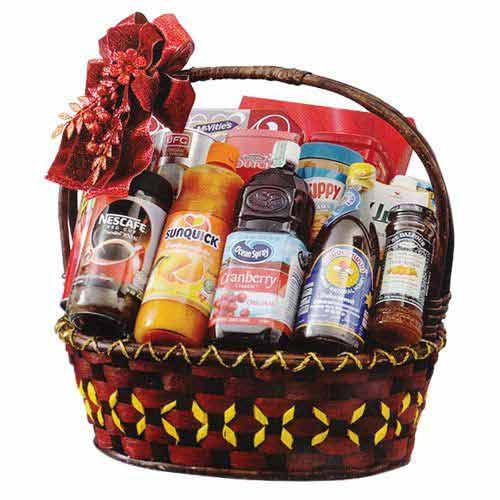 Exciting Gourmet Delicacy Gift Hamper for X-Mas