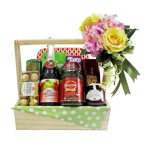 Special Surprise with Chocolates and Wafers Gift Hampers