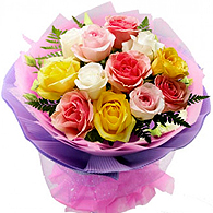 Mixed Flower Bouquet<br>(for Bangkok only)