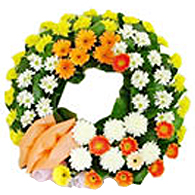 Flower wreath<br>(for Bangkok only)