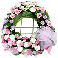 Flower wreath 1<br>(for Bangkok only)