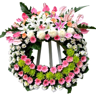 Flower wreath 3<br>(for Bangkok only)